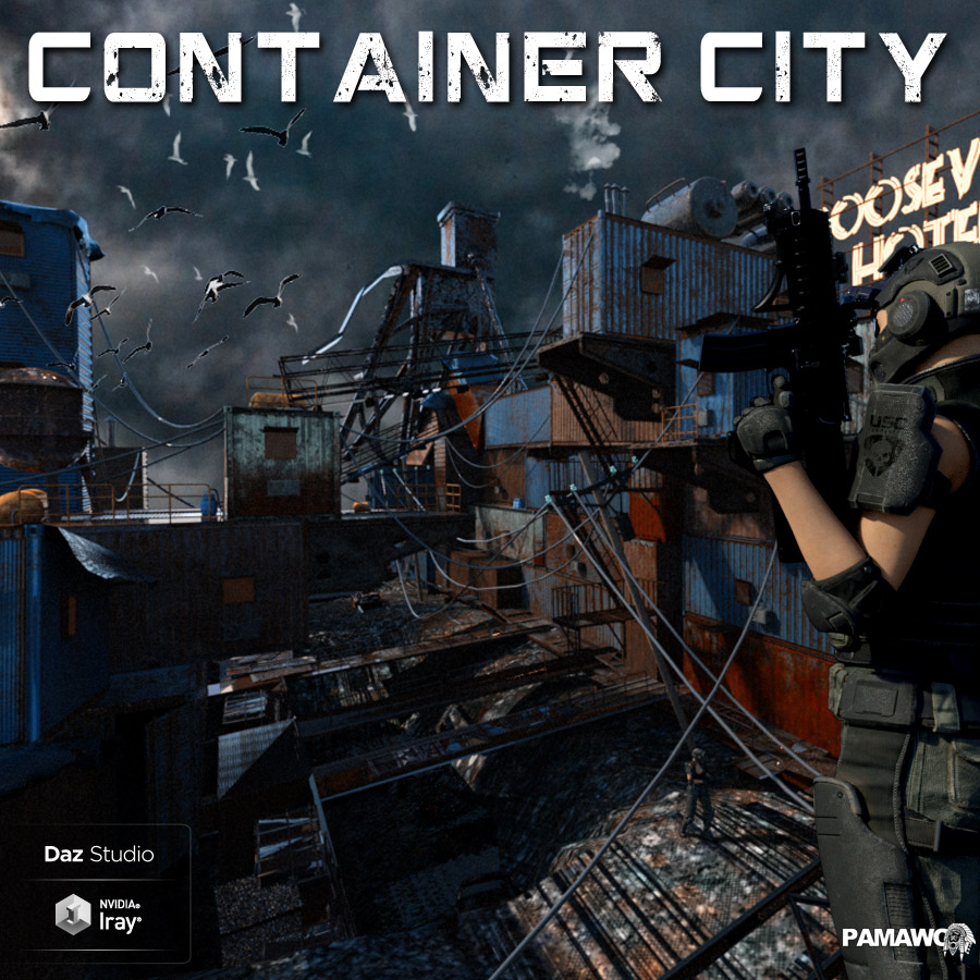 Container City For DS by pamawo