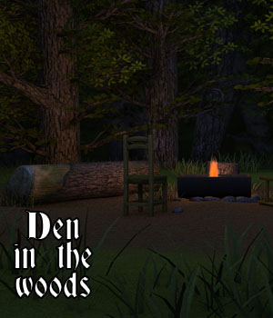 Den in the woods 3D Models genejoke