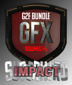SuperHero Impact Bundle for G2F 3D Figure Assets GriffinFX