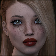TDT-Leslie for Genesis 3 Female image 2
