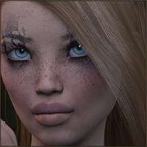 TDT-Leslie for Genesis 3 Female image 5