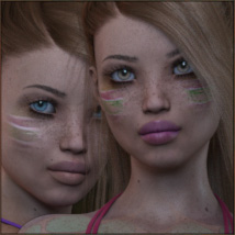TDT-Leslie for Genesis 3 Female image 7