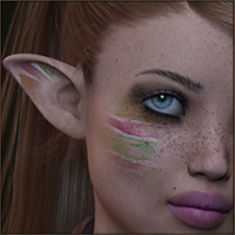 TDT-Leslie for Genesis 3 Female image 8
