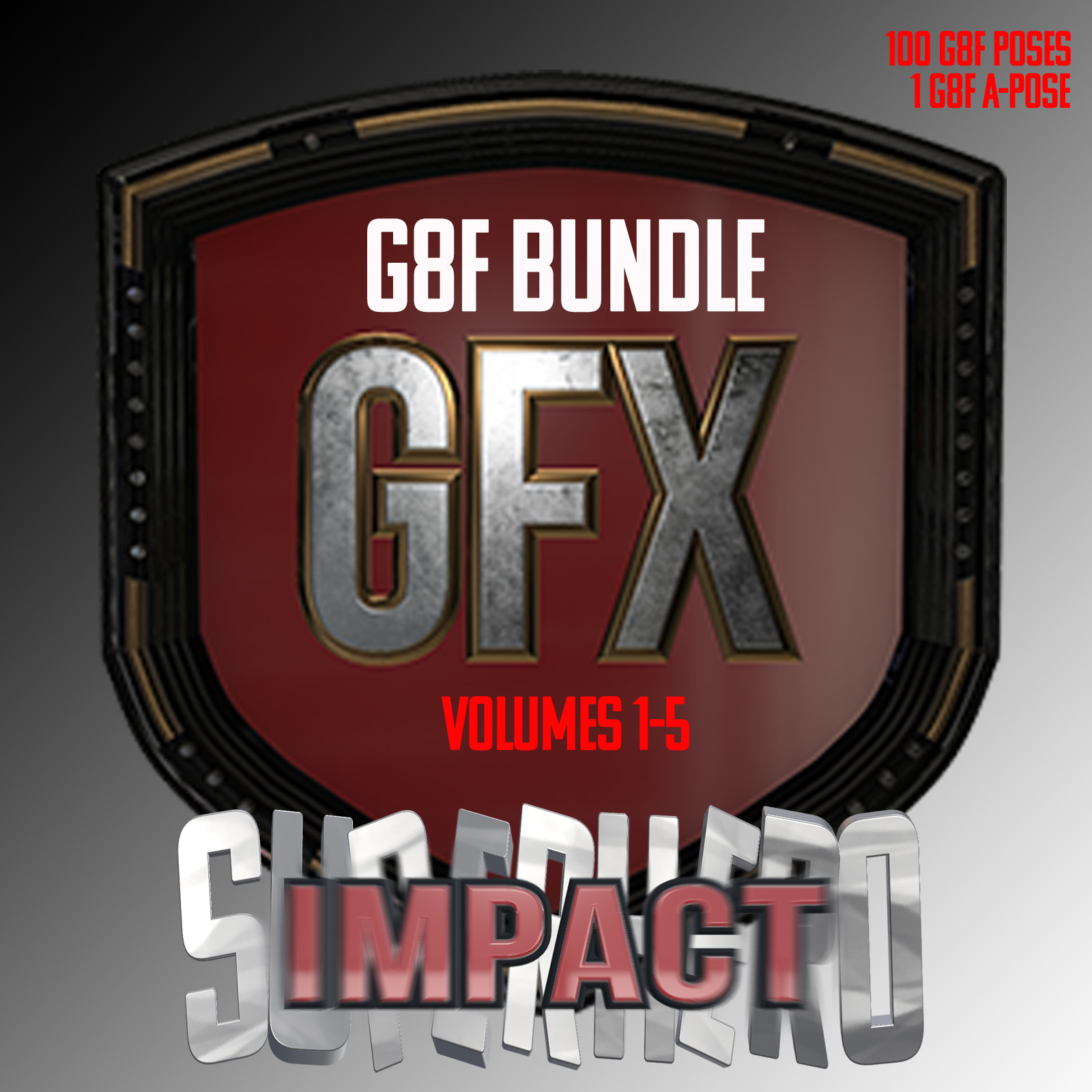 SuperHero Impact Bundle for G8F by GriffinFX