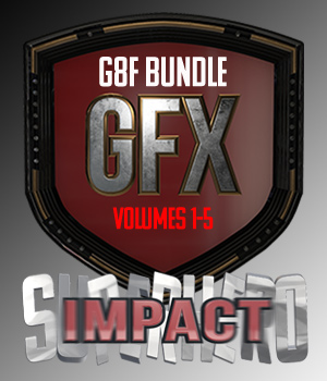 SuperHero Impact Bundle for G8F 3D Figure Assets GriffinFX