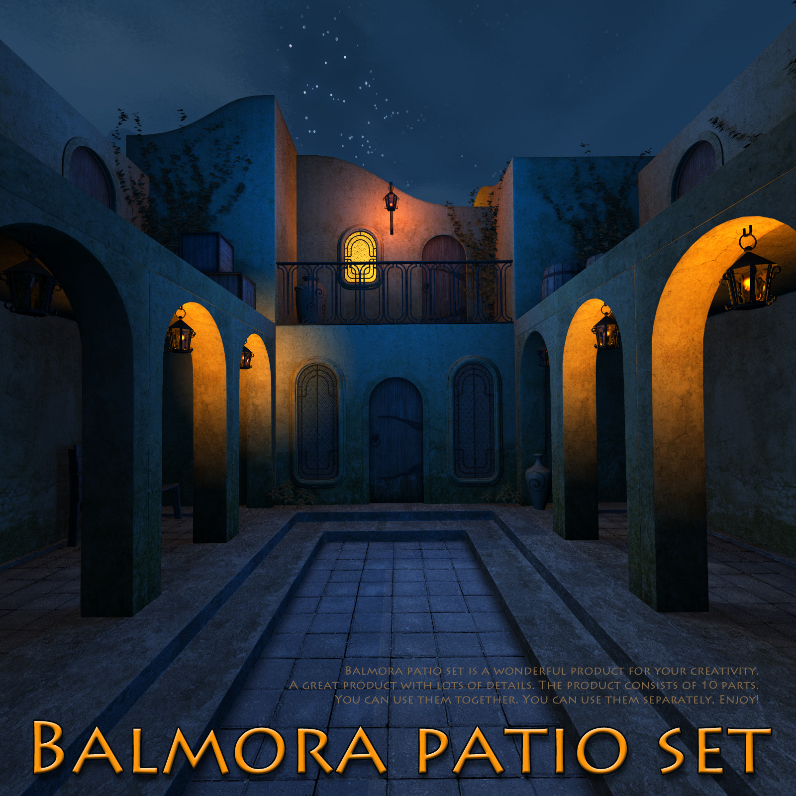 Balmora patio set