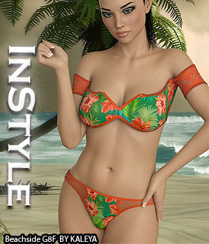 InStyle - Beachside G8F 3D Figure Assets -Valkyrie-