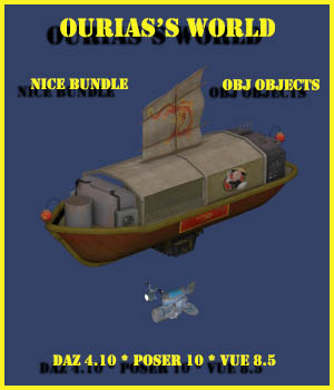 Ourias world : Nice bundle 3D Models Ourias3D