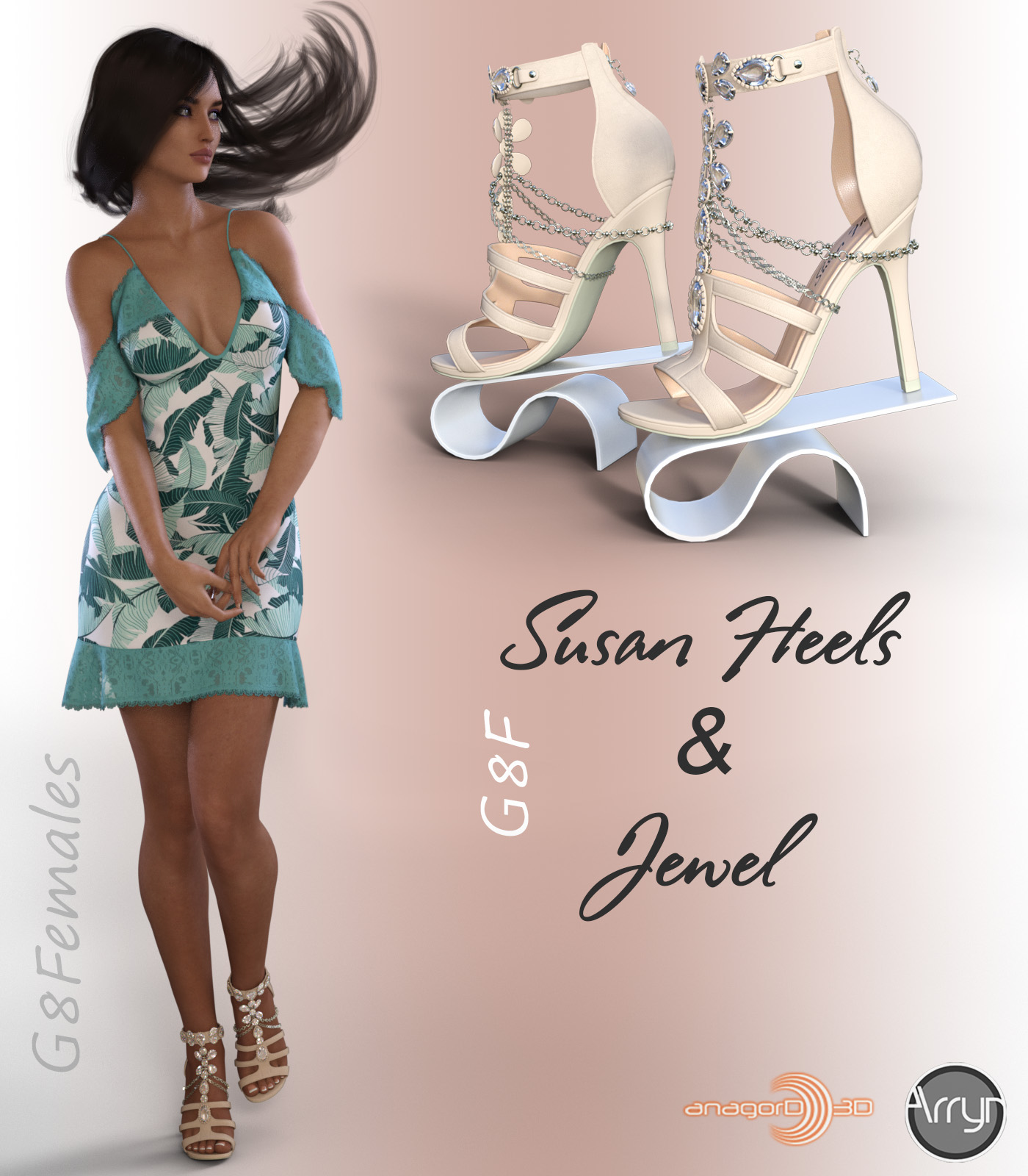 Susan Heels and Jewel G8F