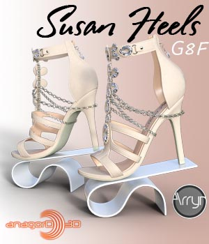 Susan Heels and Jewel G8F 3D Figure Assets Arryn