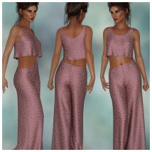 dForce - Lounging Pant Suit for G8F image 7