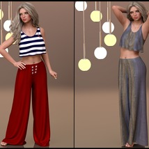 7th Ave: dForce - Lounging Pants Suit for G8F image 3