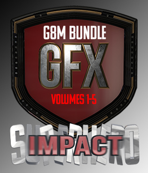 SuperHero Impact Bundle for G8M 3D Figure Assets GriffinFX