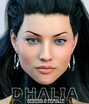 Dhalia For Genesis 8 Female 3D Figure Assets Freja