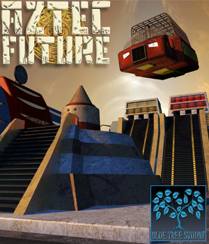 Aztec Future 3D Models BlueTreeStudio