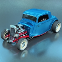 FORD HOT ROD 1934 for VUE image 2