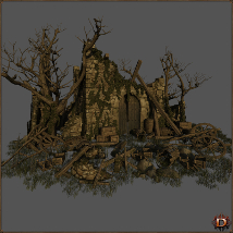 Medieval Ruin - Extended License image 1
