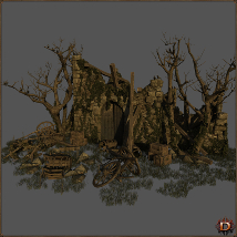 Medieval Ruin - Extended License image 2