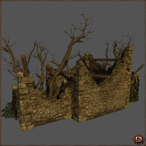 Medieval Ruin - Extended License image 3