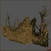 Medieval Ruin - Extended License image 4
