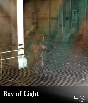 Ray of Light 3D Models biala