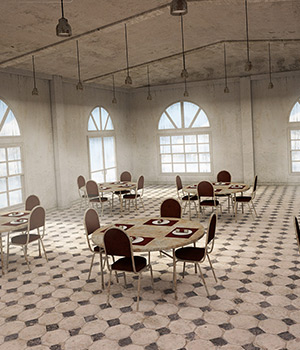Old Get Together Room 3D Models Imaginary_3D