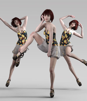High Fashion Editorial Poses for Genesis 8 Females 3D Figure Assets missuskisses