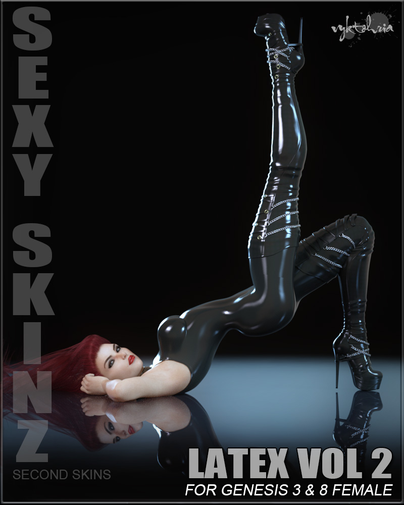 Sexy Skinz - Latex Vol 2 for G3F and G8F