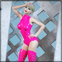 Sexy Skinz - Latex Vol 2 for G3F and G8F image 2