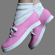 RP Fads Sneakers for Genesis 3 and Genesis 8 Females image 3