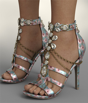 InStyle - Susan Heels and Jewel G8F 3D Figure Assets -Valkyrie-