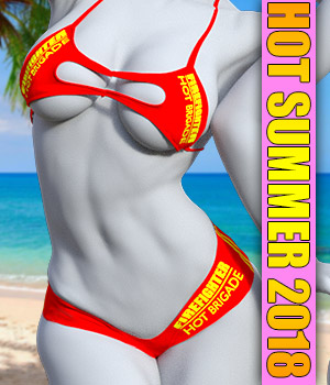 Hot Summer 2018 for G8 females 3D Figure Assets powerage