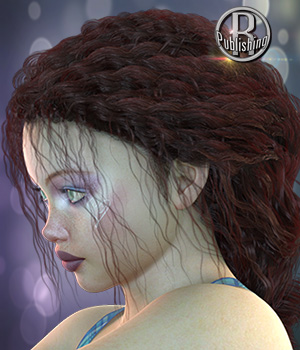 Carolina Hair G3 G8 Daz 3D Figure Assets RPublishing