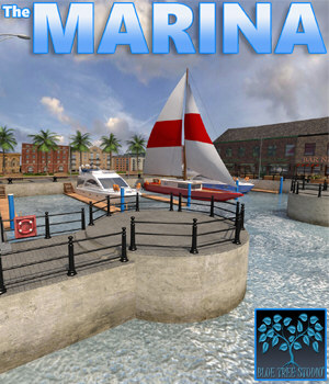 Marina 3D Models BlueTreeStudio
