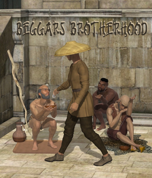 Beggars Brotherhood 3D Figure Assets Don