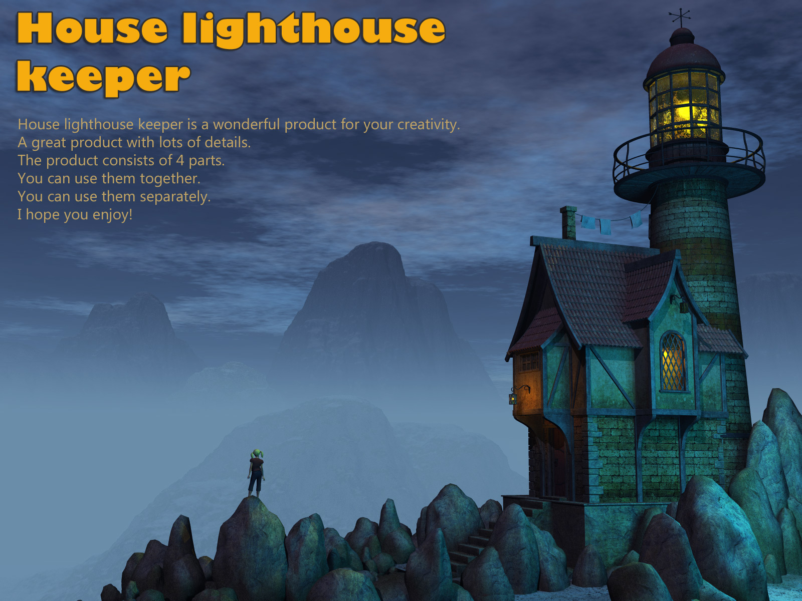 House lighthouse keeper by 1971s