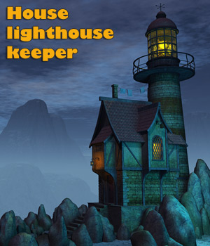 House lighthouse keeper 3D Models 1971s
