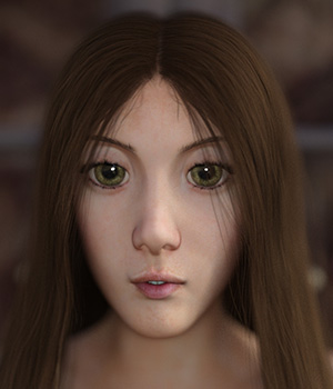 Wide Eyed Wonder for Genesis 8 Female 3D Figure Assets Oskarsson