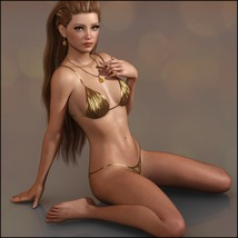 Painted Skin: Swim for G3F & G8F image 1