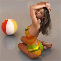 Painted Skin: Swim for G3F & G8F image 4