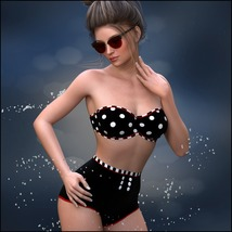 Painted Skin: Swim for G3F & G8F image 7