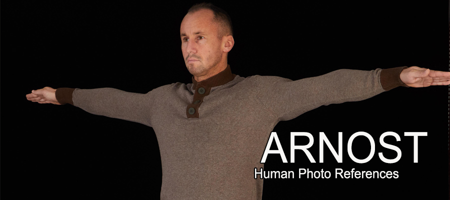 Arnost, Male Full Figure Photo References