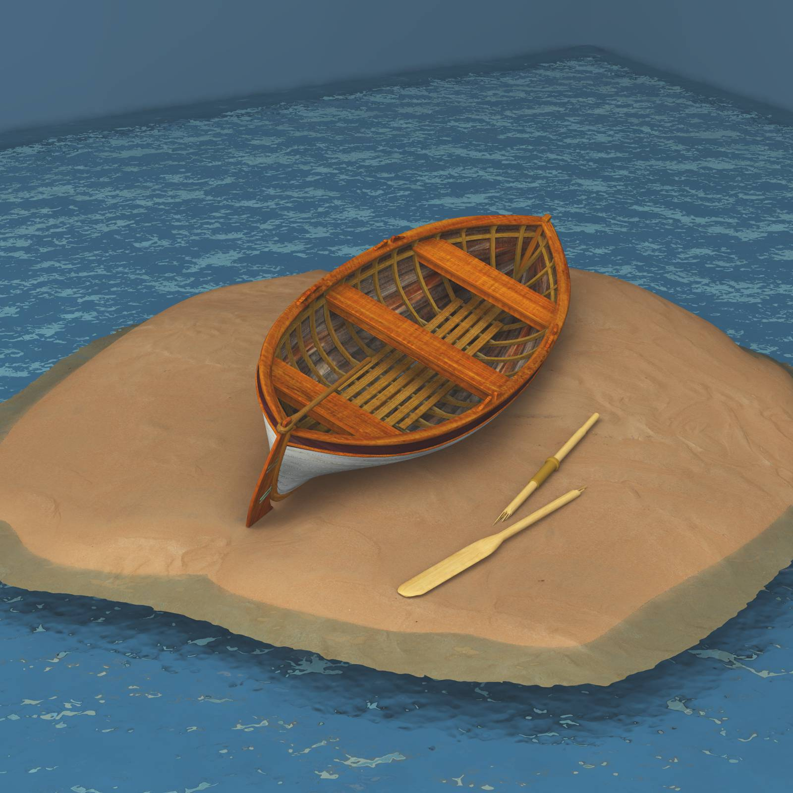 Beach Wreck Boat For Vue