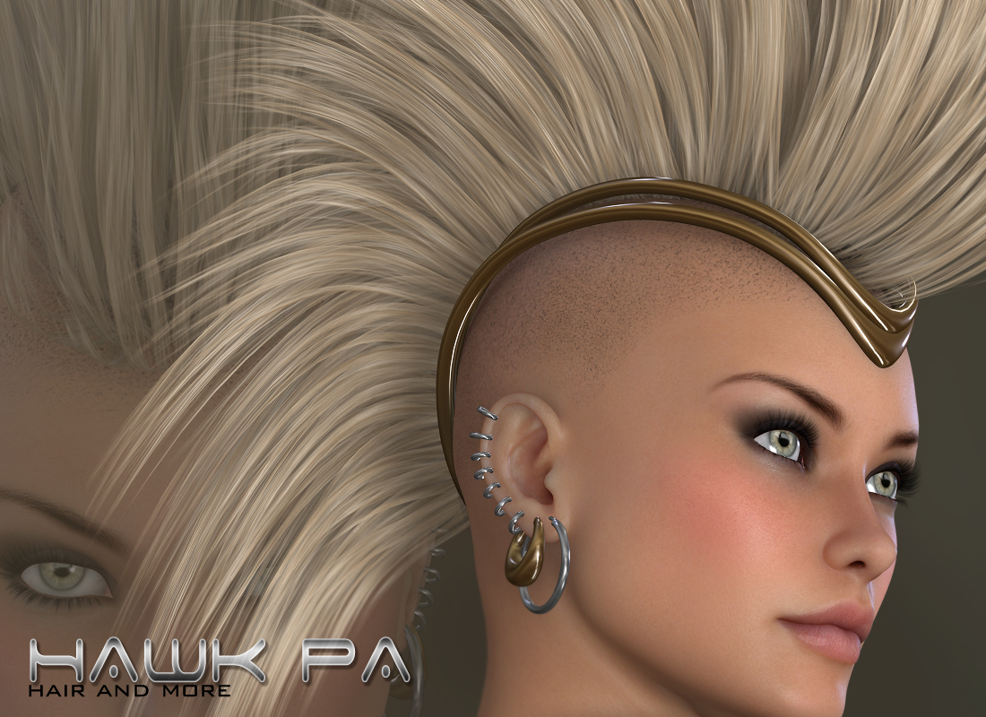 Hawk - Hair and more by digiPixel