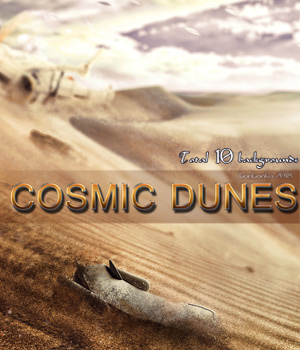 Cosmic Dunes - 2D backgrounds 2D Graphics bonbonka