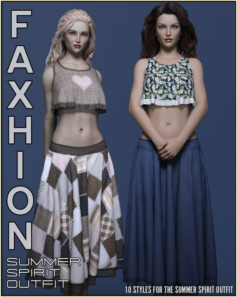 Faxhion - GD Summer Spirit Outfit