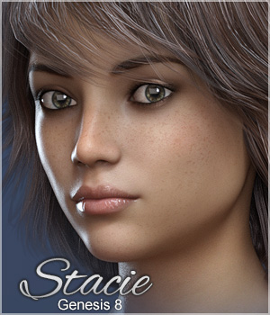 FWSA Stacie for Genesis 8 3D Figure Assets Sabby
