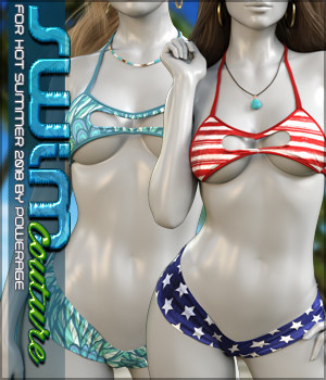 Swim Couture for Hot Summer 2018 G8F 3D Figure Assets Sveva