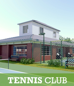 Tennis Club 3D Models TruForm