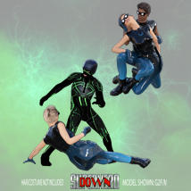 SuperHero Down for G2F and G2M Volume 3 image 2